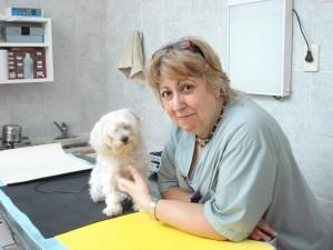 Lili con Uma
